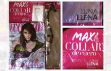 LUNA LLENA _ Encarte de prensa en revista Woman